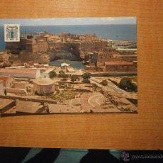 Postales: POSTAL MELILLA VISTA PARCIAL CIUDAD ANTIGUA ESCRITA. Lote 42797951