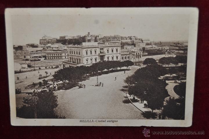 ANTIGUA POSTAL DE MELILLA. CIUDAD ANTIGUA. FOT. L. ROISIN. ESCRITA (Postales - España - Melilla Antigua (hasta 1939))