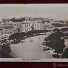 Postales: ANTIGUA POSTAL DE MELILLA. CIUDAD ANTIGUA. FOT. L. ROISIN. ESCRITA. Lote 43236307
