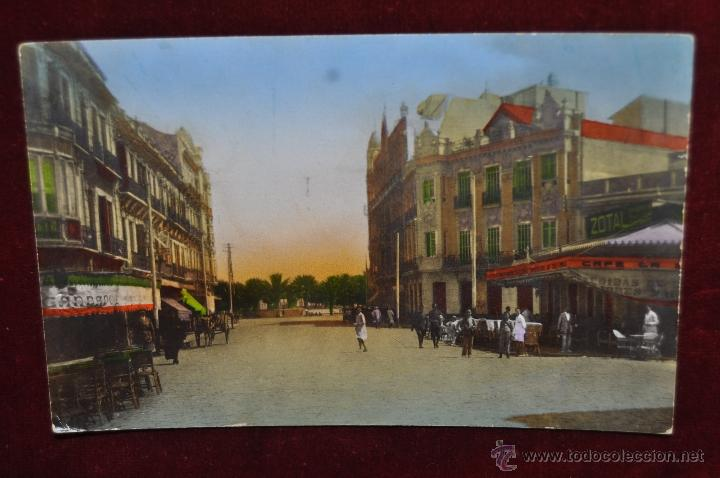 ANTIGUA POSTAL DE MELILLA. VISTA DE UNA CALLE. ESCRITA (Postales - España - Melilla Antigua (hasta 1939))