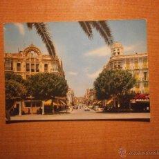 Postales: POSTAL MELILLA AVENIDA GENERALISIMO ESCRITA. Lote 43817629