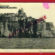 Cartoline: POSTAL ALHUCEMAS, MELILLA, VISTA PARCIAL, FOTOGRAFICA, P94878. Lote 43844720