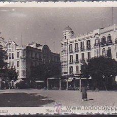 Postales: POSTAL MELILLA PLAZA DE ESPAÑA . Lote 44232689