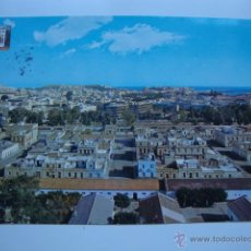 Postales: POSTAL MELILLA AÑOS 60/70 CON SELLO FRANCO. Lote 44288241