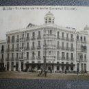 Postales: MELILLA ENTRADA DE LA CALLE GENERAL CHACEL POSTAL ANTIGUA. Lote 45968918