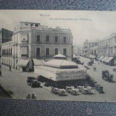 Postales: MELILLA CALLES ALFONSO XIII Y O'DONNEL POSTAL ANTIGUA. Lote 46000135