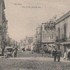 Postales: Nº 19475 POSTAL MELILLA CALLE DE CASTELAR HAUSER Y MENET. Lote 46713210