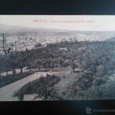 Postales: TARJETA POSTAL DE MELILLA - VISTA PARCIAL DEL PARQUE HERNANDEZ. - EDICION BOIX HERMANOS. NO CIRCULAD. Lote 47306458