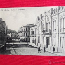 Postales: CALLE DE CERVANTES - MELILLA. Lote 47818039