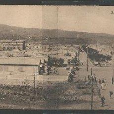Postales: MELILLA - VISTA GENERAL DEL BARRIO DEL REAL - POSTAL DOBLE - P5745. Lote 47824378