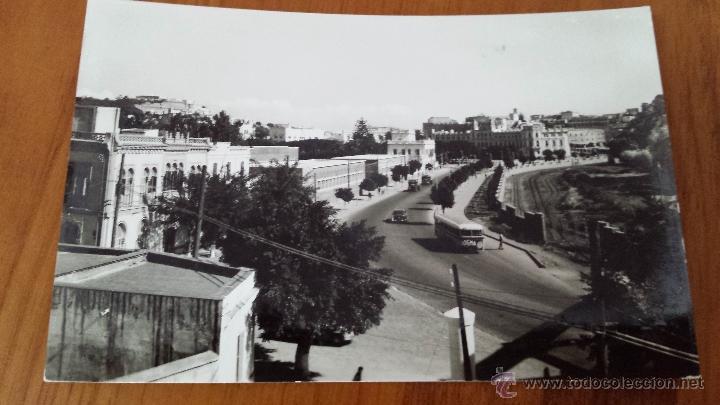 ANTIGUA TARJETA POSTAL AVENIDA GARCIA VALIÑO MELILLA (Postales - España - Melilla Antigua (hasta 1939))