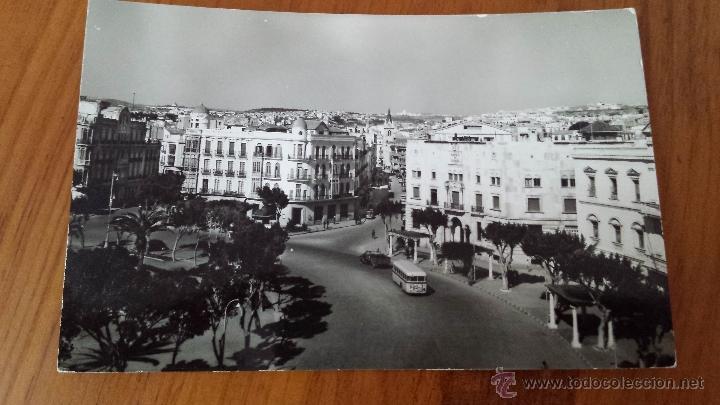 ANTIGUA TARJETA POSTAL PLAZA DE ESPAÑA MELILLA (Postales - España - Melilla Antigua (hasta 1939))