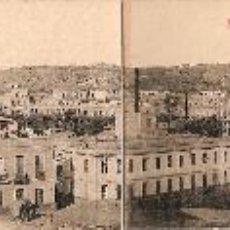 Postales: MELILLA, POSTAL CUADRUPLE, VISTA GENERAL DE MELILLA (53,5X9). Lote 48648900