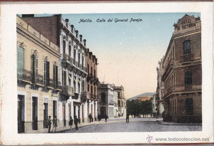 Postales: RECUERDO DE MELILLA. SERIE A - BOIX HERMANOS. 20 BONITAS VISTA EN COLOR, (UNA TAMAÑO QUÍNTUPLE) - Foto 2 - 48661223