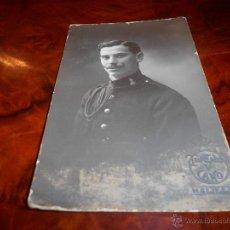 Postales: ANTIGUA POSTAL DE MELILLA SUBOFICIAL ING. EJERCITO ESPAÑOL ESCRITA 1914 TRUCHANO Y CANO. Lote 48724487