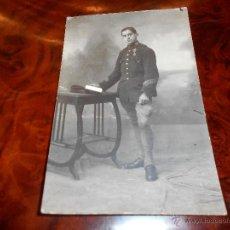 Postales: ANTIGUA POSTAL DE MELILLA SUBOFICIAL ING. EJERCITO ESPAÑOL ESCRITA 1918 LARACHE GUERRA AFRICA. Lote 48729996