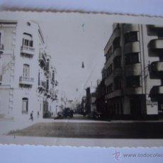 Postales: ANTIGUA POSTAL ORIGINAL MELILLA CALLE DE O´DONELL, CASA BOIX. Lote 49965128