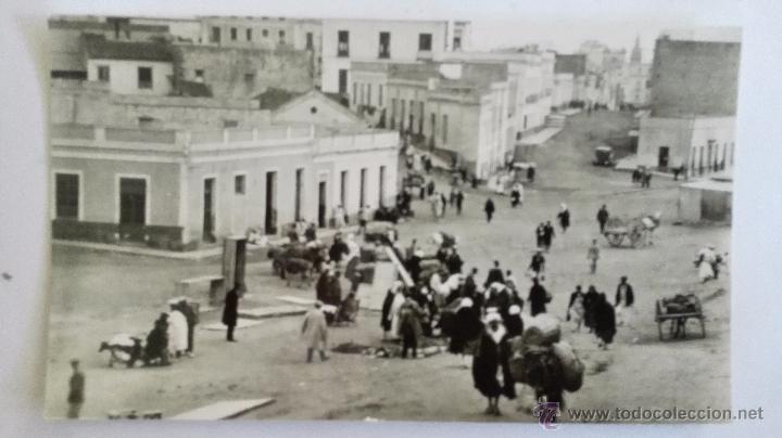 ANTIGUA POSTAL, MELILLA - BARRIO DEL POLIGONO (Postales - España - Melilla Antigua (hasta 1939))