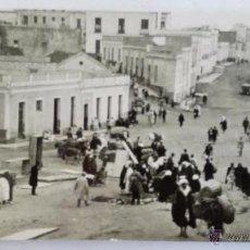 Postales: ANTIGUA POSTAL, MELILLA - BARRIO DEL POLIGONO. Lote 50105172