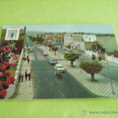 Postales: MELILLA -- BARRIO REAL ENTRADA NUEVA --. Lote 50544268