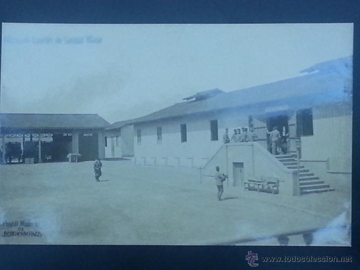 POSTAL MELILLA CUARTEL DE SANIDAD MILITAR (Postales - España - Melilla Antigua (hasta 1939))