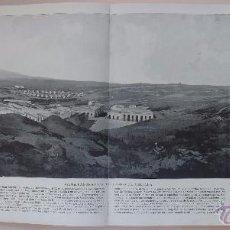 Postales: FOTO LÁMINA SIGLO XIX. 1898. PANORAMA NACIONAL. MELILLA. VISTA DEL CAMPO. FUERTES FUERTE. 259. Lote 51065072