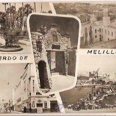 Postales: ANTIGUA POSTAL 1079 RECUERDO DE MELILLA ESCRITA EDICIONES RAFAEL BOIX. Lote 51112676