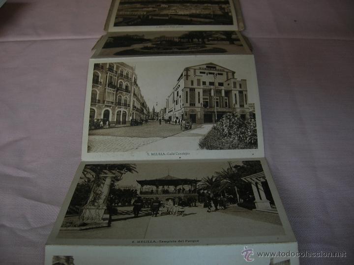 SIETE POSTALES ANTIGUAS DE MELILLA (Postales - España - Melilla Antigua (hasta 1939))