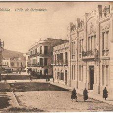 Postales: MELILLA, CALLE DE CERVANTES - EDICIÓN BOIX HERMANOS Nº 23 - SIN CIRCULAR. Lote 51671255
