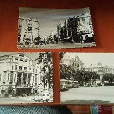 Cartes Postales: 3 POSTALES DE MELILLA, MONUMENTAL CINEMA, AVENIDA GENERALISIMO Y PLAZA ESPAÑA VISTA PARCIAL. Lote 51692801