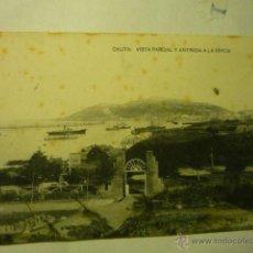 Postales: POSTAL CEUTA -VISTA PARCIAL Y ENTRADA HIPICA -ESCRITA--BB. Lote 51738612