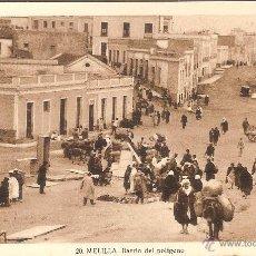 Cartoline: MELILLA, BARRIO DEL POLIGONO - L.ROISIN 20 - SIN CIRCULAR. Lote 52549581
