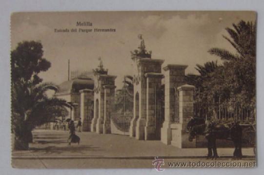 Postales: DOS ANTIGUAS POSTALES DE MELILLA - Foto 2 - 52662128