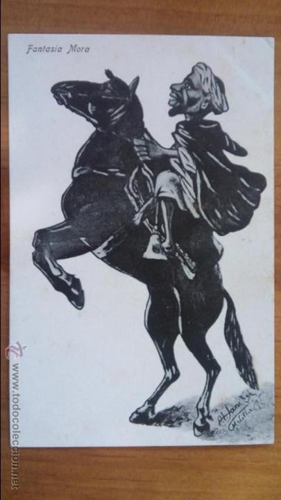 FANTASIA MORA. MELILLA. ED. BOIX HERMANOS. (Postales - España - Melilla Antigua (hasta 1939))