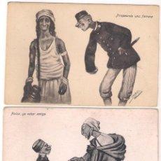 Cartes Postales: POSTALES CARICATURAS MELILLA. Lote 53477774