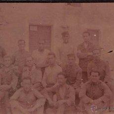 Postais: MELILLA AÑO 1922- PEÑÓN DE LA GOMERA- FOTOGRÁFICA. Lote 53798029