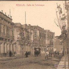Postales: MELILLA, CALLE DE SOTOMAYOR - EDICIONES BOIX HERMANOS - SIN CIRCULAR. Lote 53993168