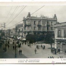 Postales: MELILLA Nº 14. AVENIDA DEL GENERALÍSIMO. L. ROISIN FOTO, NUEVA, SIN CIRCULAR. Lote 54320997