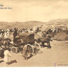 Postales: ANTIGUA Y PRECIOSA POSTAL DE MELILLA - VISTA DEL ZOCO. Lote 54366910