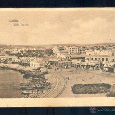 Postales: NUMULITE PB143 POSTAL ANTIGUA MELILLA VISTA PARCIAL ESPAÑA NUEVA MARGALLO. Lote 54562497