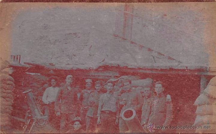 PEÑON DE LA GOMERA-MELILLA 1922- FOTOGRÁFICA (Postales - España - Melilla Antigua (hasta 1939))
