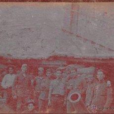 Cartoline: PEÑON DE LA GOMERA-MELILLA 1922- FOTOGRÁFICA. Lote 54670014