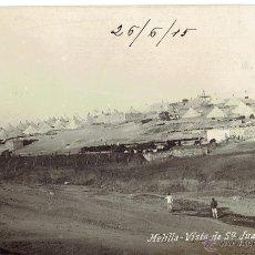 Postales: PS5724 MELILLA 'VISTA DE SAN JUAN DE LAS MINAS'. FOTOGRÁFICA. POSTAL EXPRES. 1915. Lote 48277923