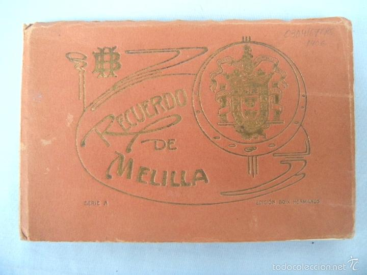 POSTALES RECUERDO DE MELILLA SERIE A, BOIX HERMANOS (Postales - España - Melilla Antigua (hasta 1939))