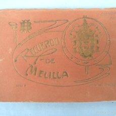 Postales: POSTALES RECUERDO DE MELILLA SERIE A, BOIX HERMANOS. Lote 55892081