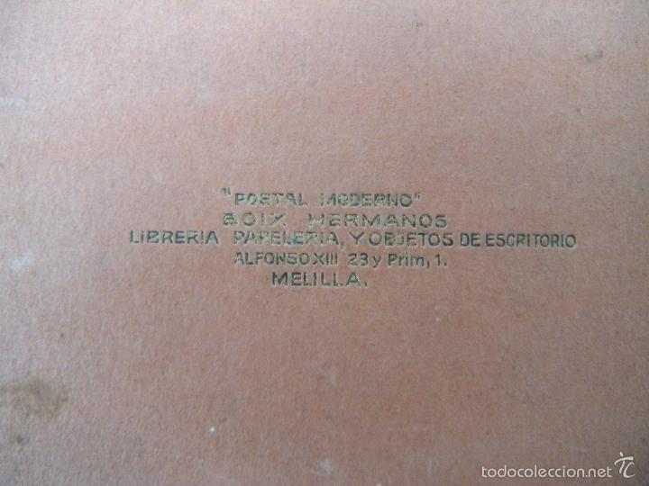 Postales: POSTALES RECUERDO DE MELILLA SERIE A, BOIX HERMANOS - Foto 2 - 55892081