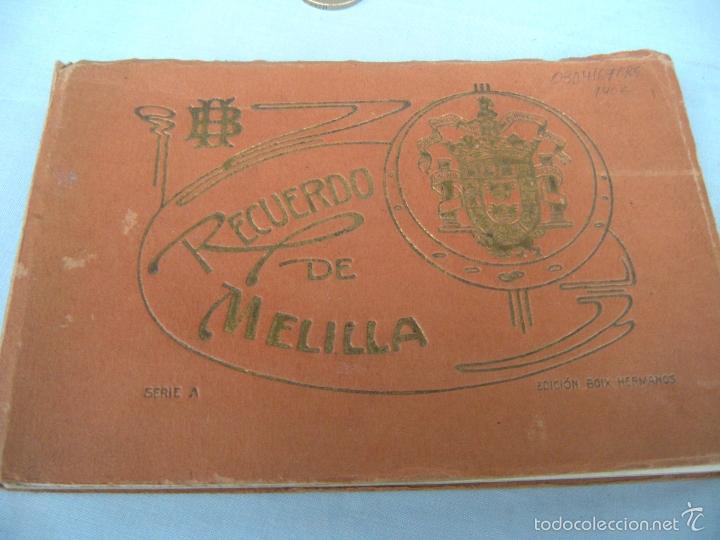 Postales: POSTALES RECUERDO DE MELILLA SERIE A, BOIX HERMANOS - Foto 7 - 55892081