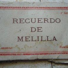 Postales: POSTALES DE MELILLA 1 SERIE ROISIN. Lote 56325256