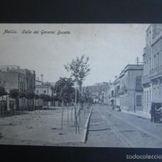 Postales: POSTAL MELILLA. CALLE DEL GENERAL BUCETA. . Lote 56870699