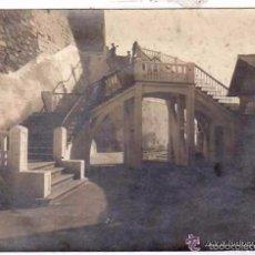 Postales: FOTOGRAFÍA TRUCHAUD Y CANO, MELILLA . VISTA EXTERIOR CON ESCALERA. 17 X 12 CM. Lote 56894305